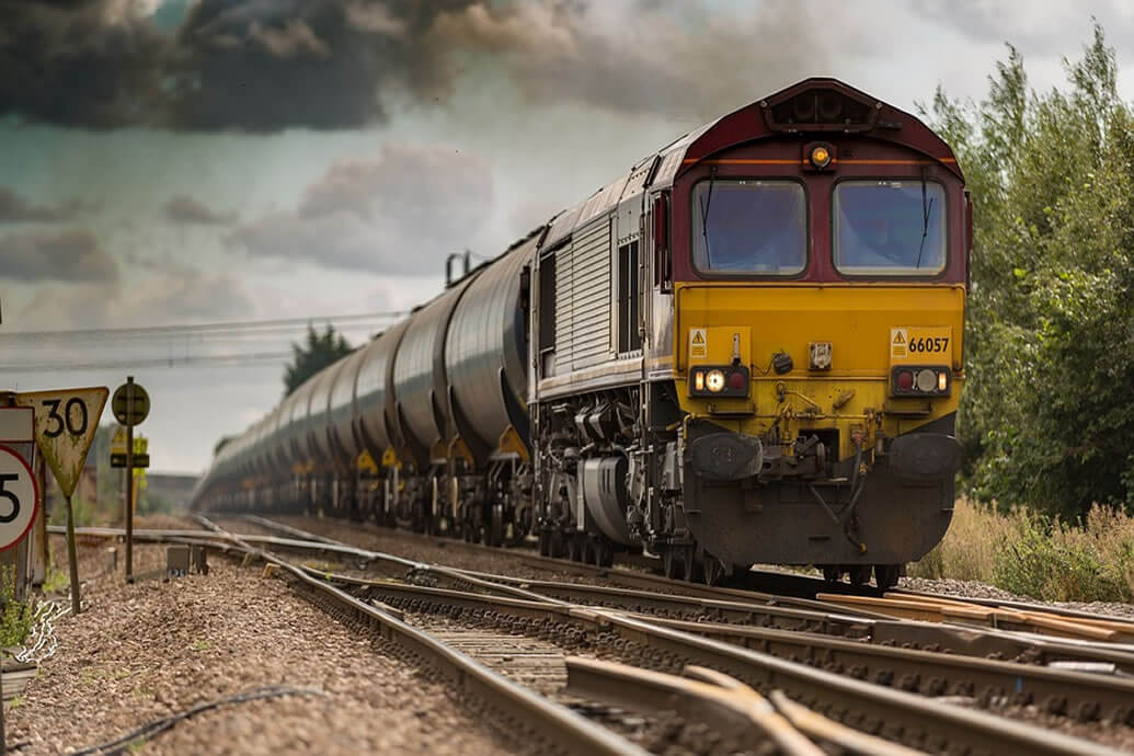 How to detect fires on moving trains?