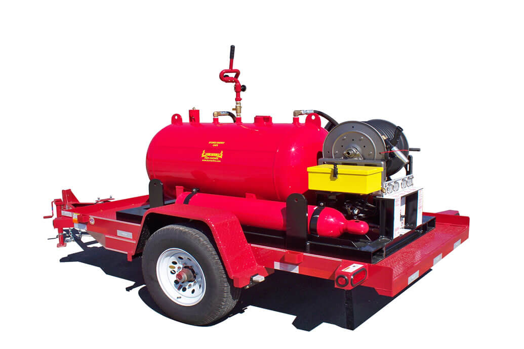 Delta Fire foam trailers see export success