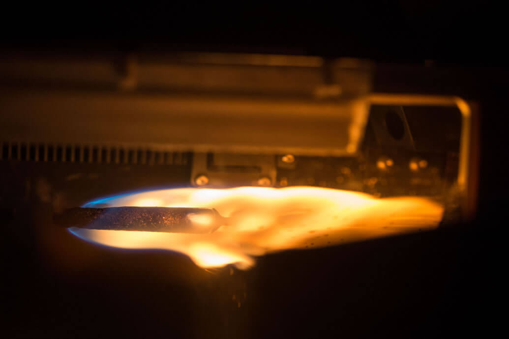 Electrical discharges for flame detection