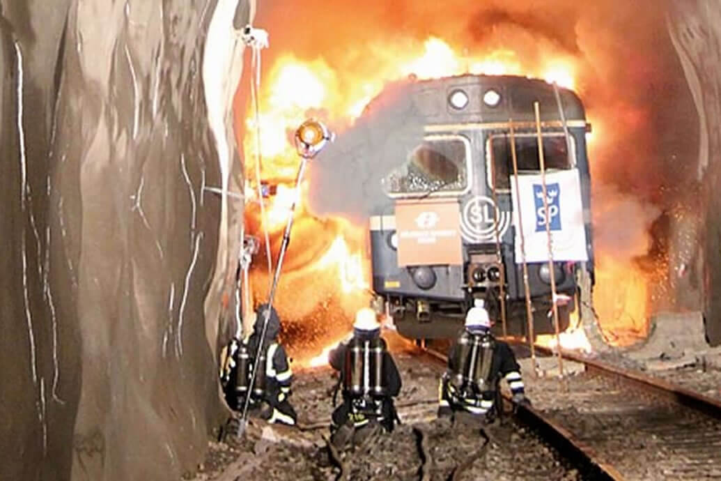 Metro Carriage Fire Tests