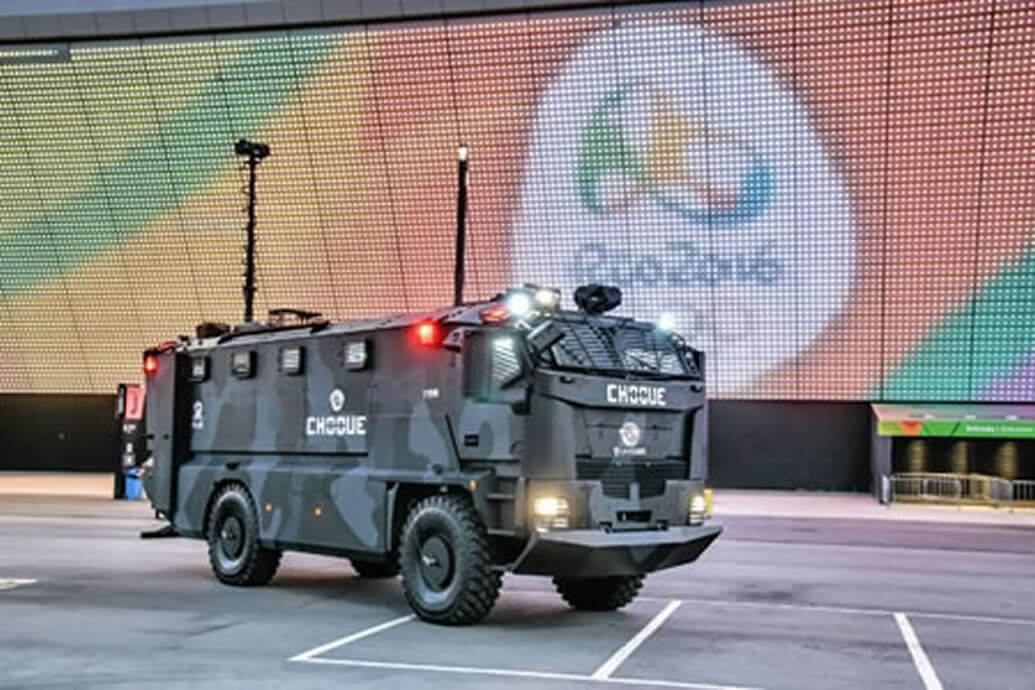 Rio Olympics protected by Spectrex