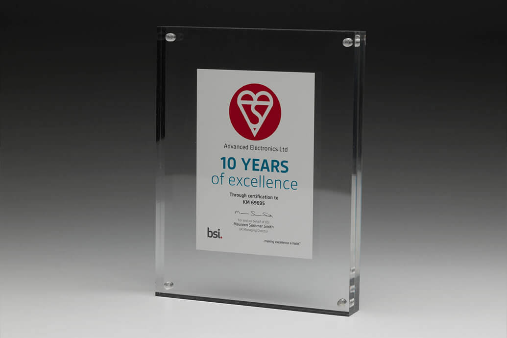 Advanced Awarded by BSI