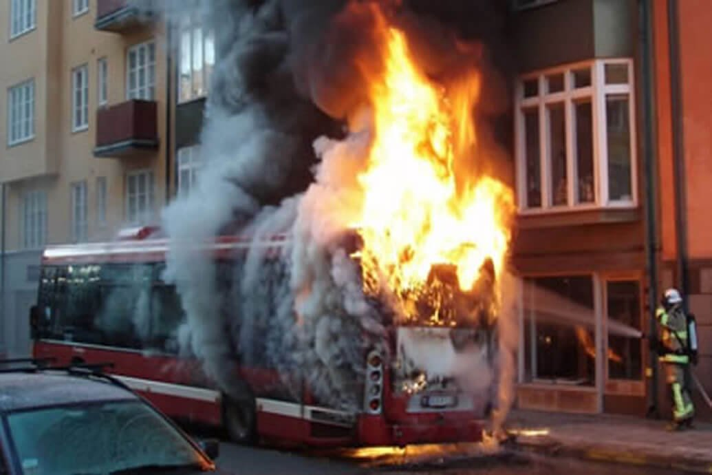 Recent efforts have been done to increase Motorcoach and School Bus Fire Safety.