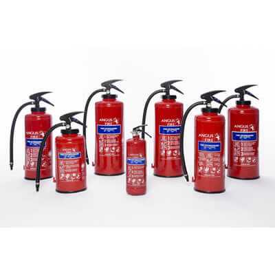Angus Fire Portable Fire Extinguishers