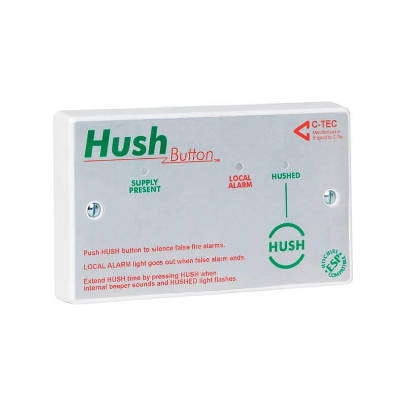 C-TEC Hush Buttons | Fire Safety Search