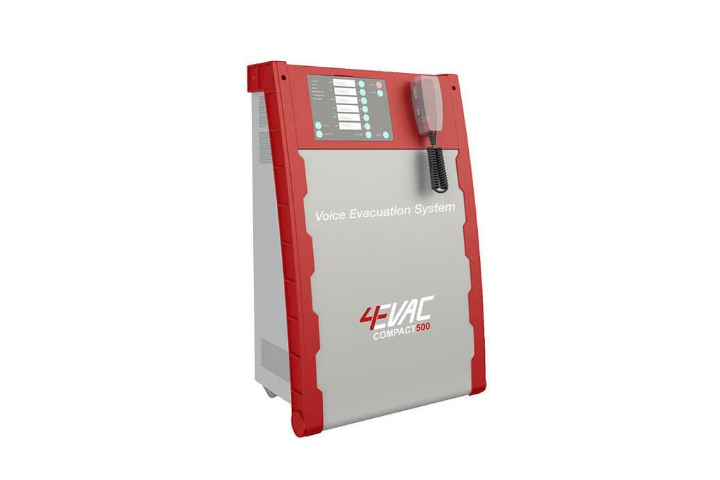 4EVAC Compact 500 Voice Alarm at FIREX 2017