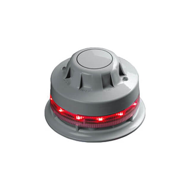 AlarmSense Optical Smoke Detector with Visual Sounder