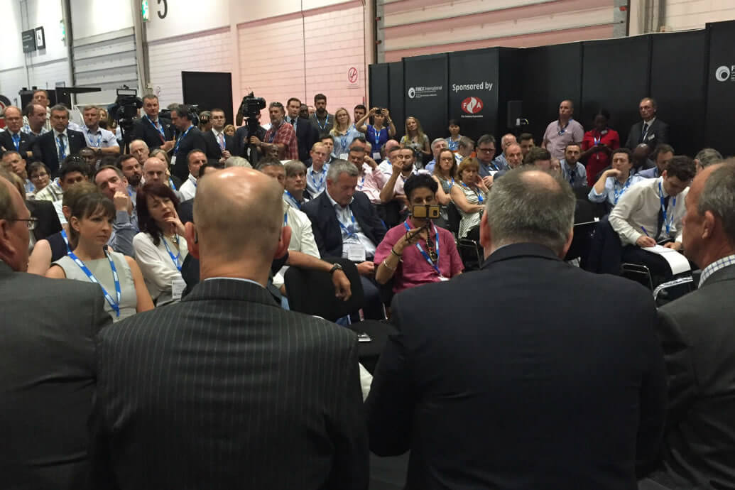 The fire industry and world media unite at FIREX International