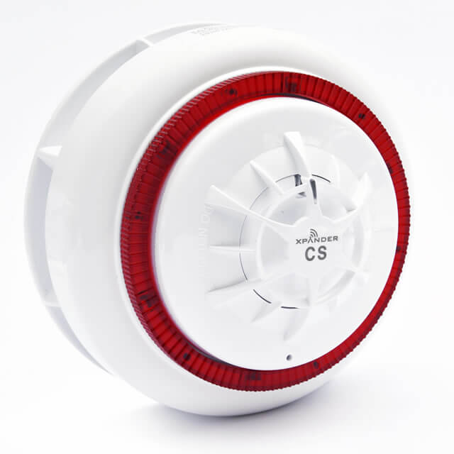 XPander CS heat detector with sounder base