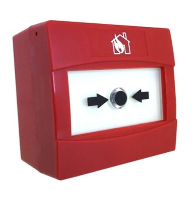 CAST Red Surface Mounting Manual Call Point