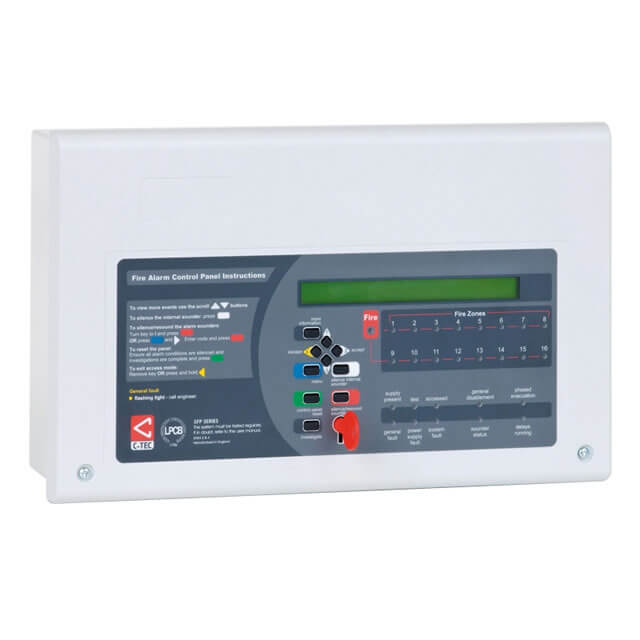 XFP 16 Zone Repeater Panel