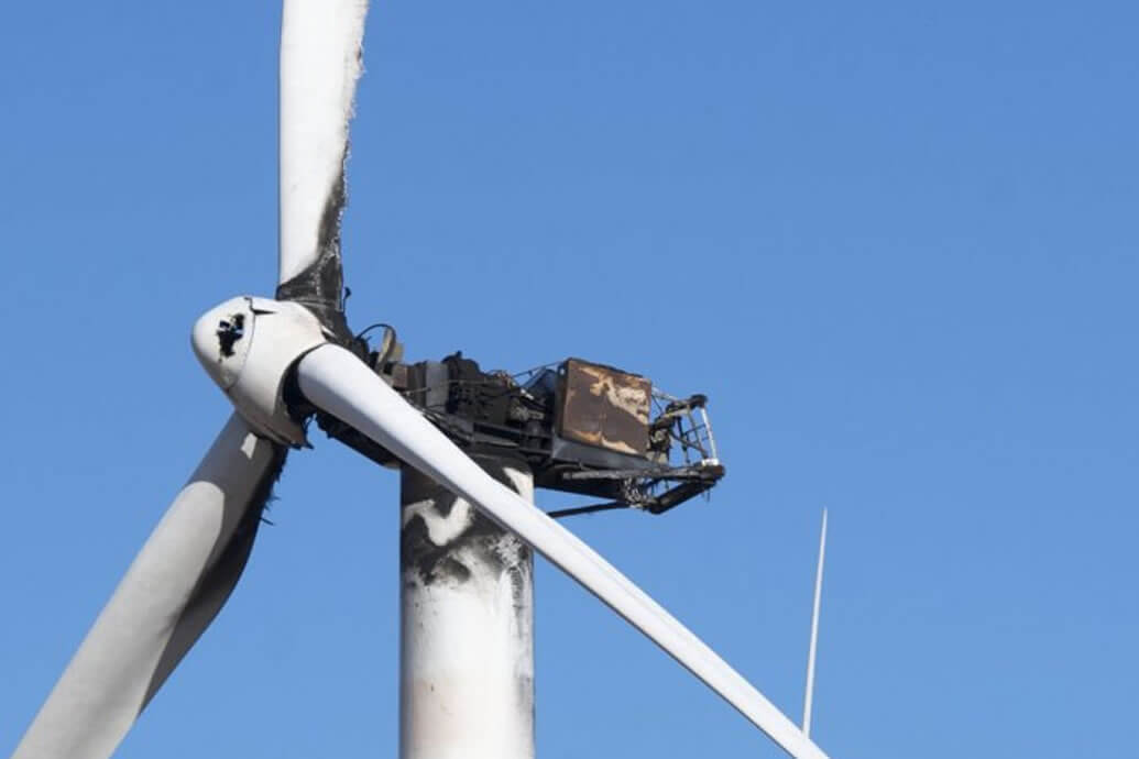 Fire Risk in Wind Turbines
