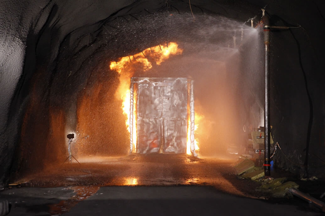 Latest Research on Fighting Tunnel Fires