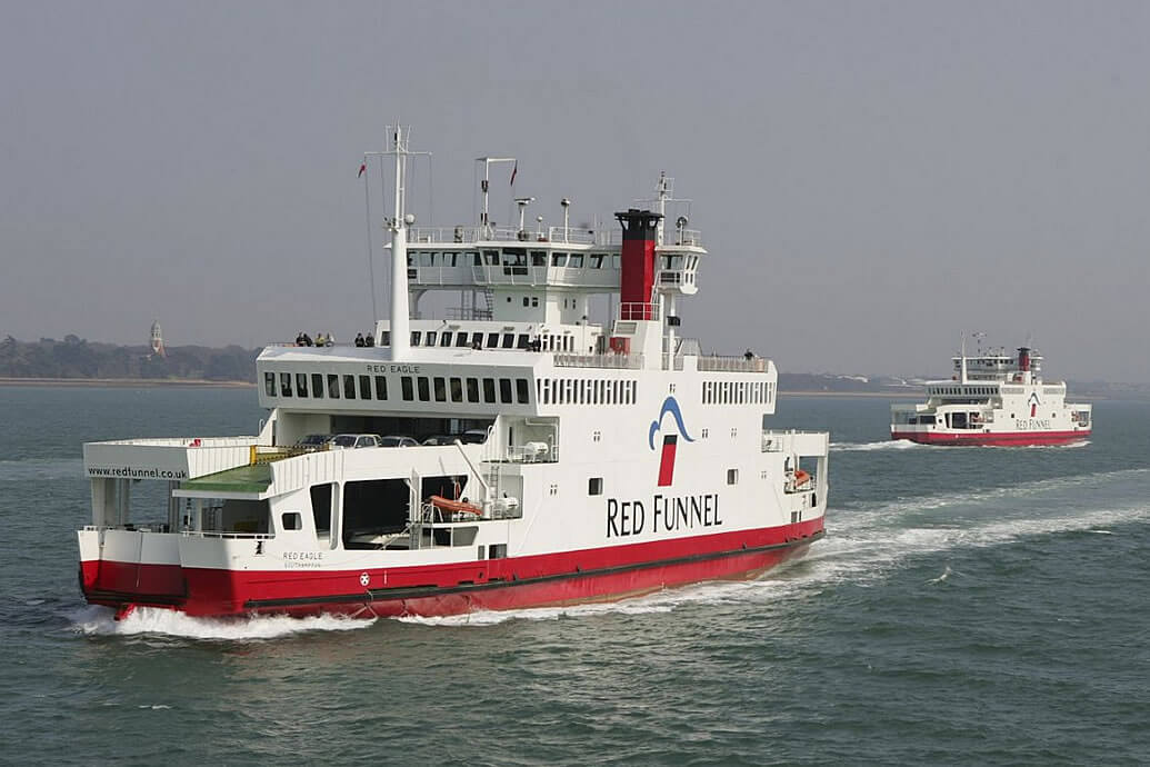 Red Funnel Ferries Choose Kentec