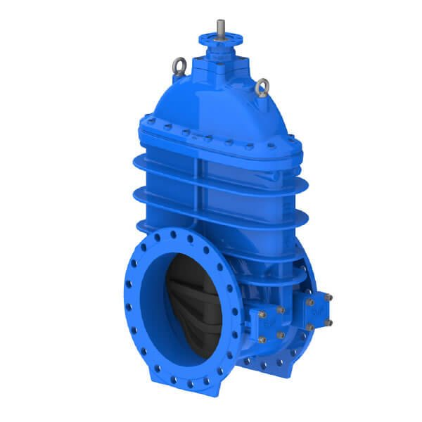 AVK Resilient Seated Flanged Gate Valve Without Bypass