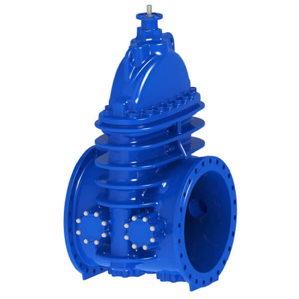 AVK Resilient Seated Flanged Gate Valve