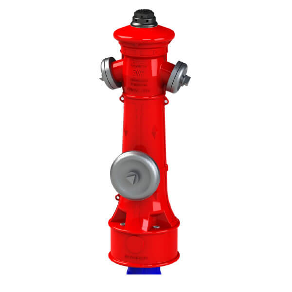 AVK Series 84 DN 100 Above Ground Fire Hydrant