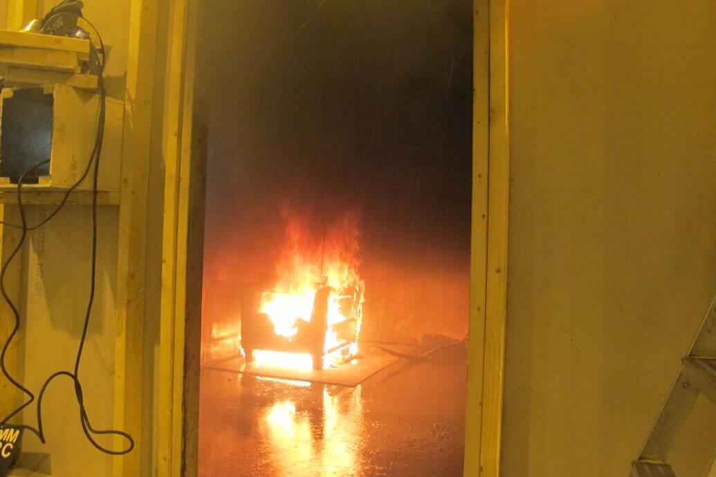 Tests of Residential Sprinklers