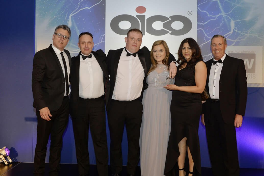 Aico Wins Electrical Wholesaler Award