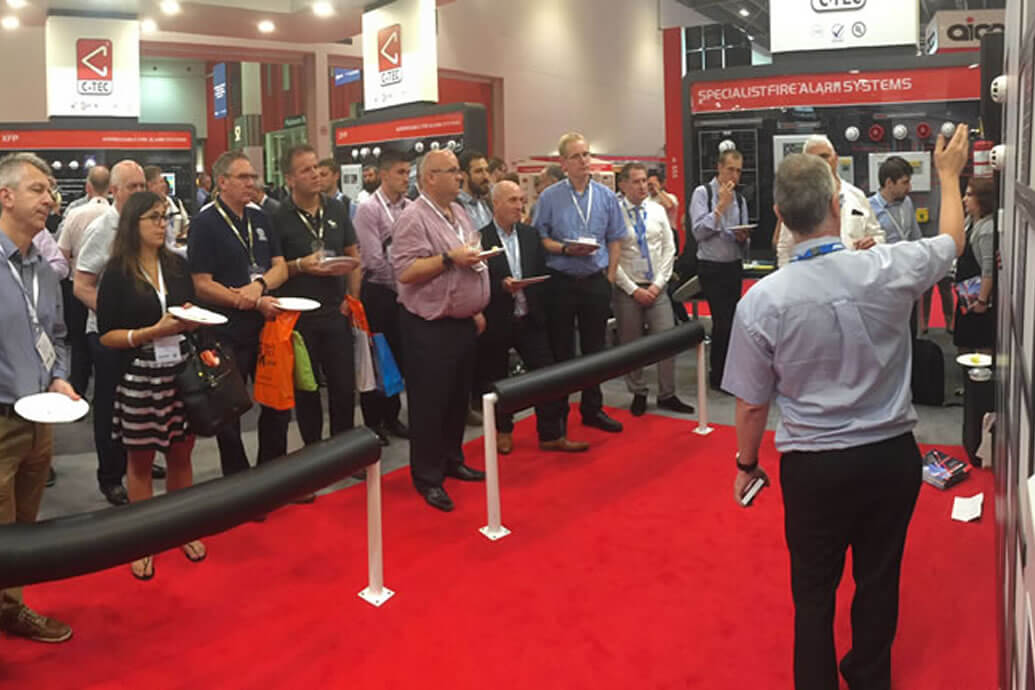 C-TEC Success at Firex International