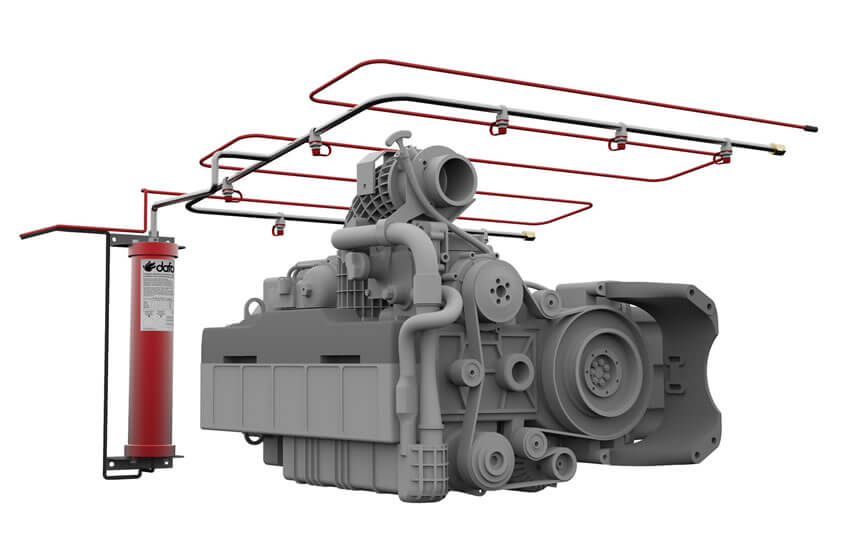 Fire Suppression Systems in Buses and Coaches